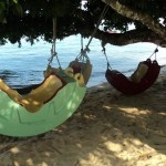 Genting Bayu Chalet beach